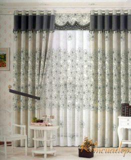 Mẫu rèm phòng khách 355