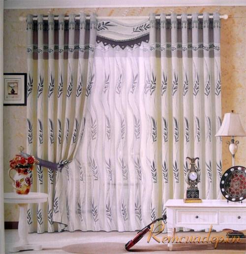 Mẫu rèm phòng khách 356