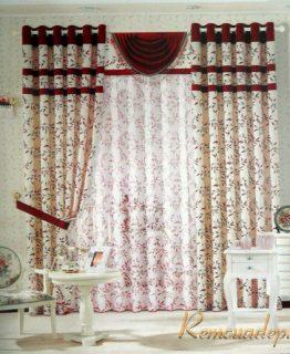 Mẫu rèm phòng khách 389