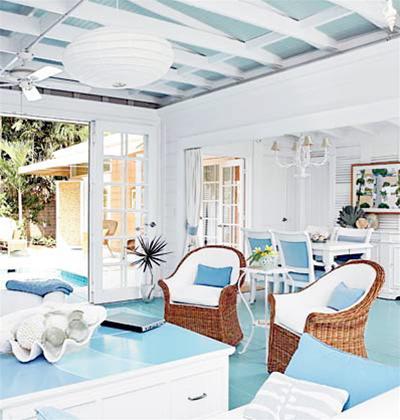 Trang trí nội thất với không gian mát lạnh và xanh dịu