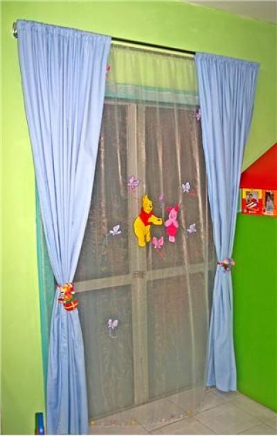 5. Cửa sổ và rèm cửa cần thiết kế đơn giản. 1