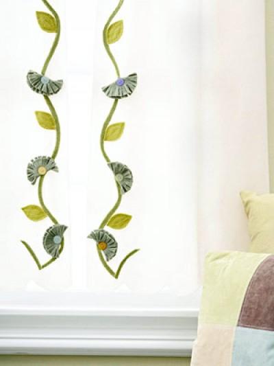Một số mẫu sáng tạo với rèm cửa sổ 6
