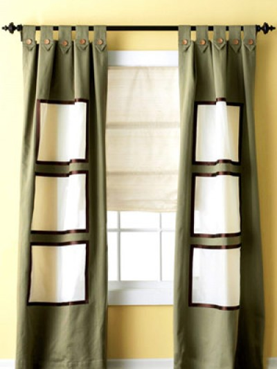 Một số mẫu sáng tạo với rèm cửa sổ 7