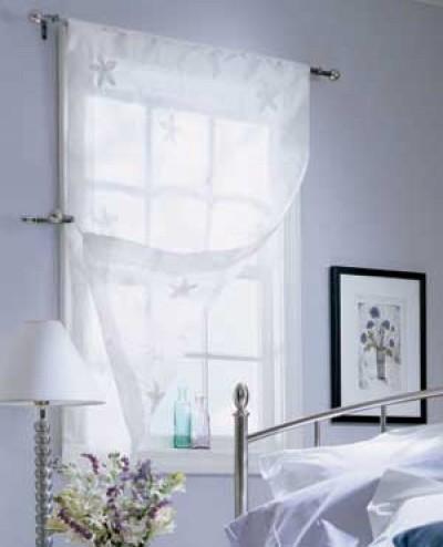 Làm đẹp cửa sổ với một số mẫu rèm 1