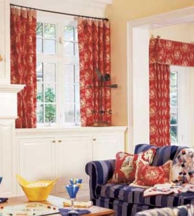 Làm đẹp cửa sổ với một số mẫu rèm 11
