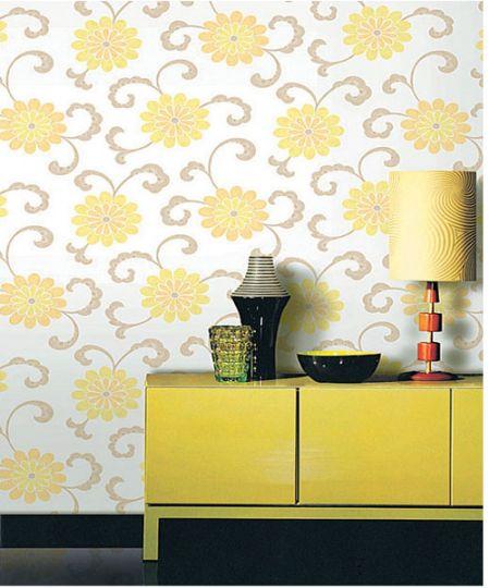 Chọn giấy dán tường có màu sắc sáng dịu