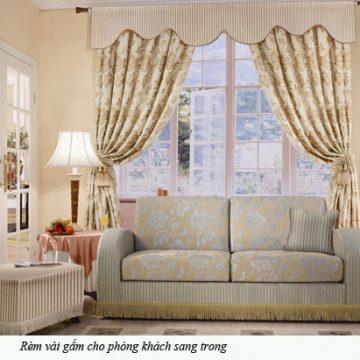 Cách lựa chọn rèm cửa cho nội thất ngôi nhà