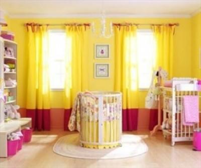 Thiết kế phòng cho bé gái mới sinh