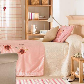 Phòng ngủ ấm áp đón thu sang