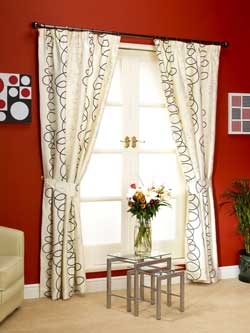 Trang trí nội thất với rèm cửa đẹp