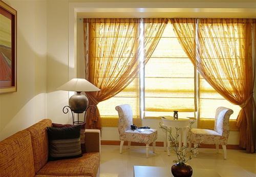 Chọn rèm cửa phù hợp với phòng khách