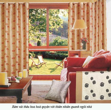 Cách lựa chọn rèm cửa cho phù hợp với nội thất ngôi nhà