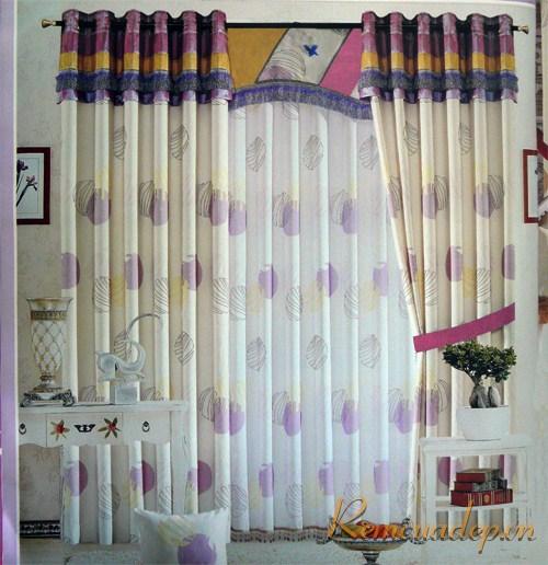 Sắc màu trong rèm cửa 2