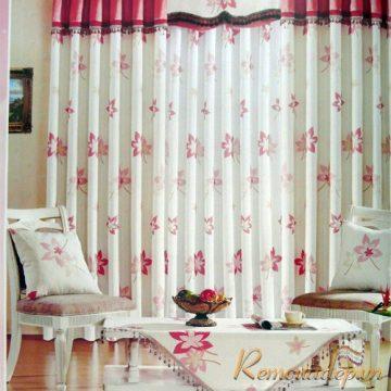 Rèm vải theo phong cách hiện đại