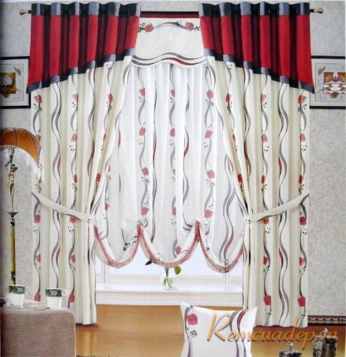 Sắc màu trong rèm cửa 3
