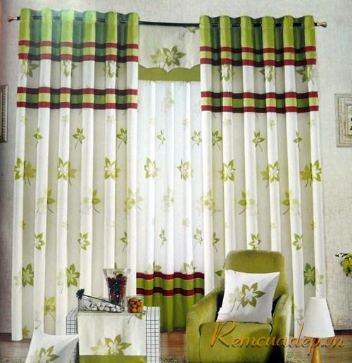 Sắc màu trong rèm cửa 4