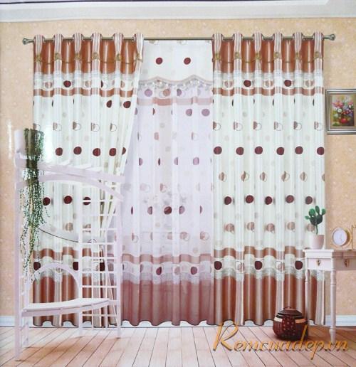 Lung linh vệt nắng qua rèm vải