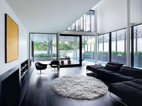 Đặt sofa vào phía bức tường dài nhất có thể 1