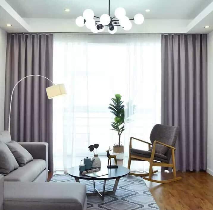 Rèm vải buông cho phòng khách, phòng ngủ 2