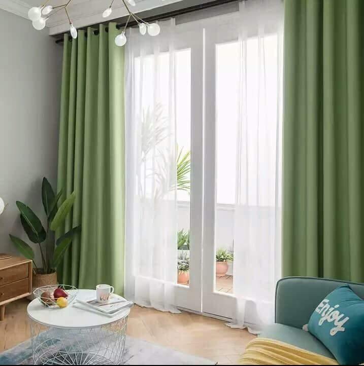 Rèm vải buông cho phòng khách, phòng ngủ 1
