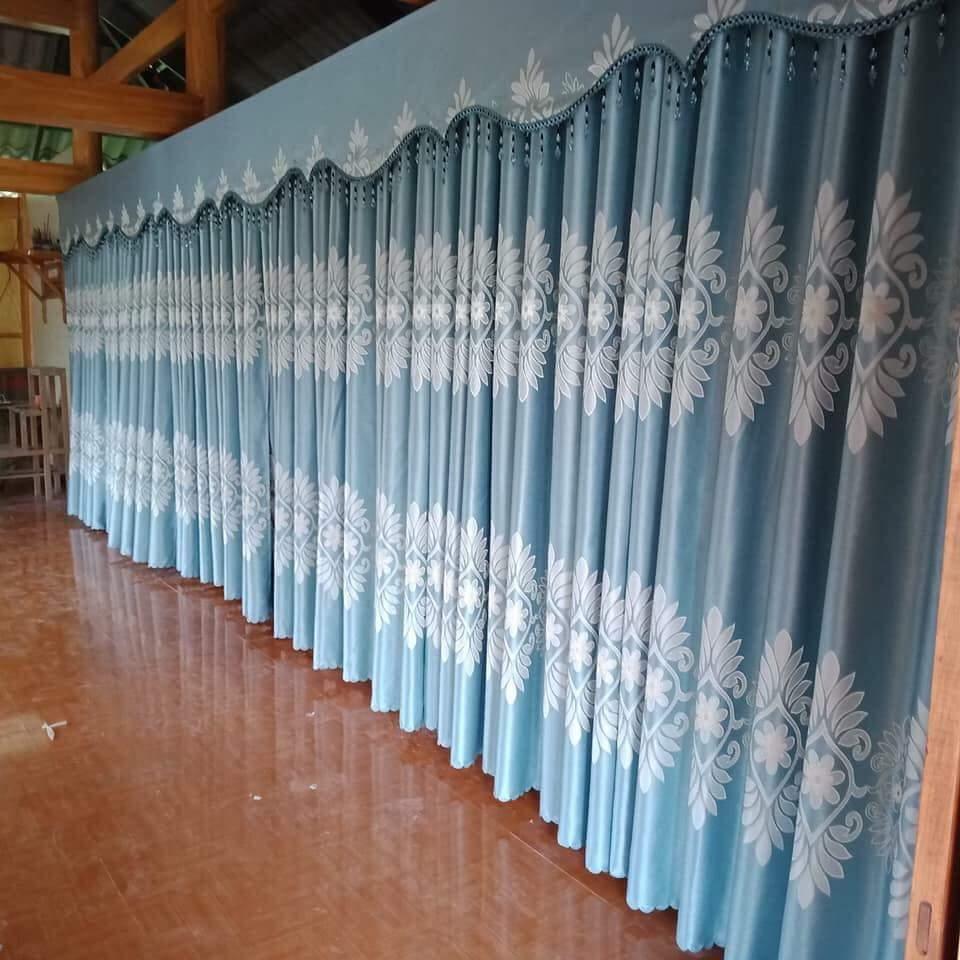 Rèm vải buông cho phòng khách, phòng ngủ 4